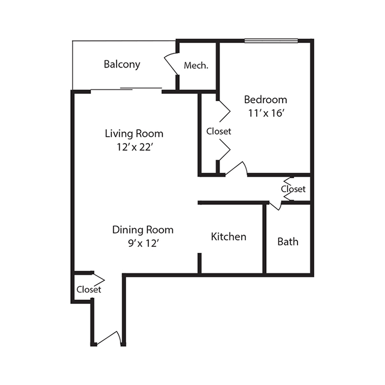Spring Forest Apartments: Floor Plans – Forest Park Apartments